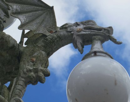 Dragons of San Sebastian. Photo by Curtis Mekemson.