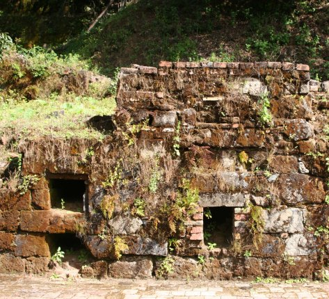 Part of the silver smelter at Hacienda Jalisco. (Photo by Peggy Mekemson.)