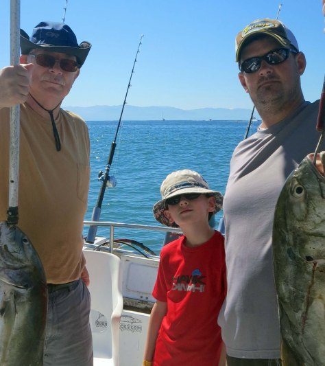 Nice fish, but would you invite this motley crew into your house?