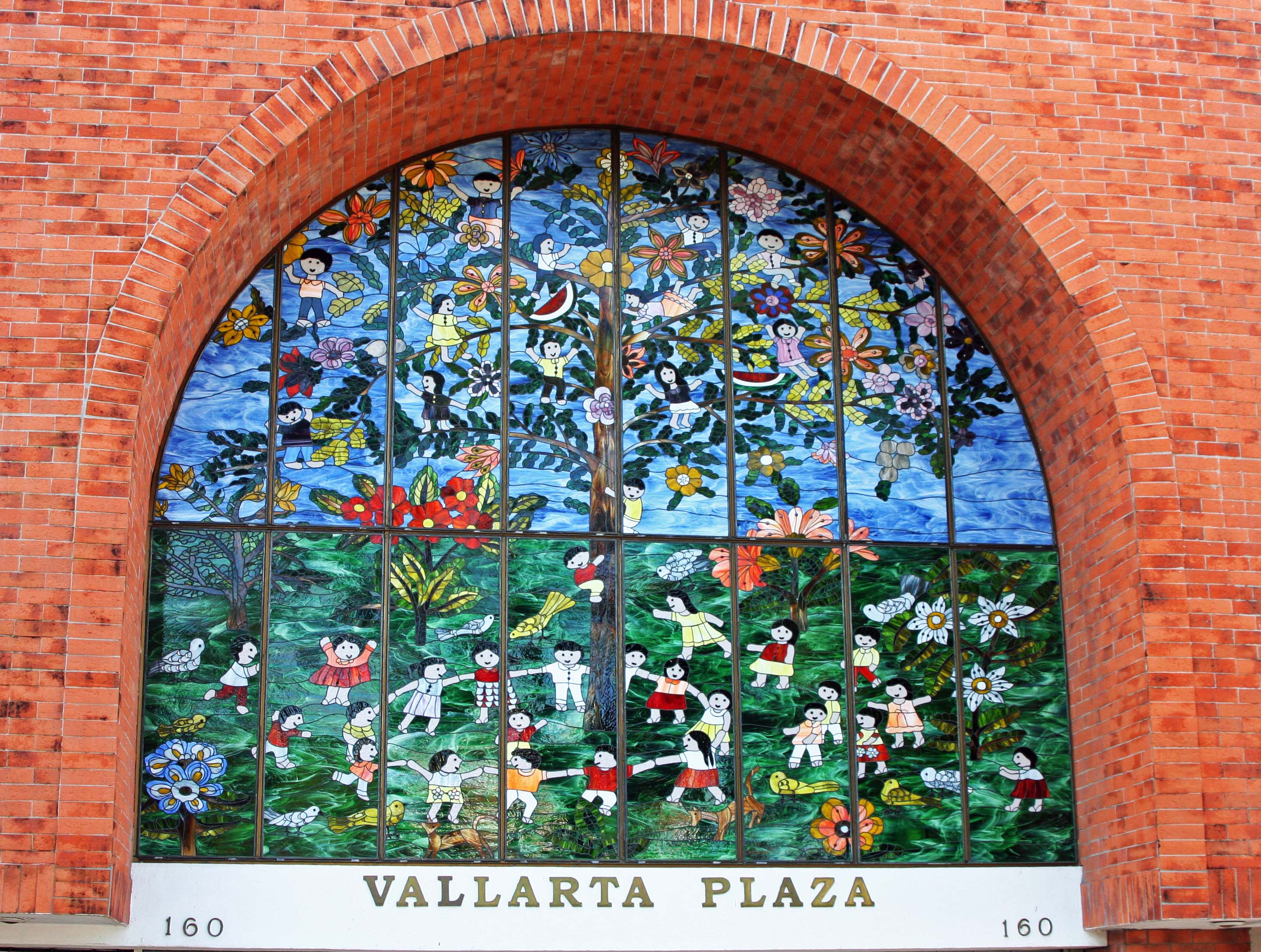 I already took you on a tour of Puerto Vallarta's fantastic sculptures. Murals are also common in the city. (Photo by Peggy Mekemson.)