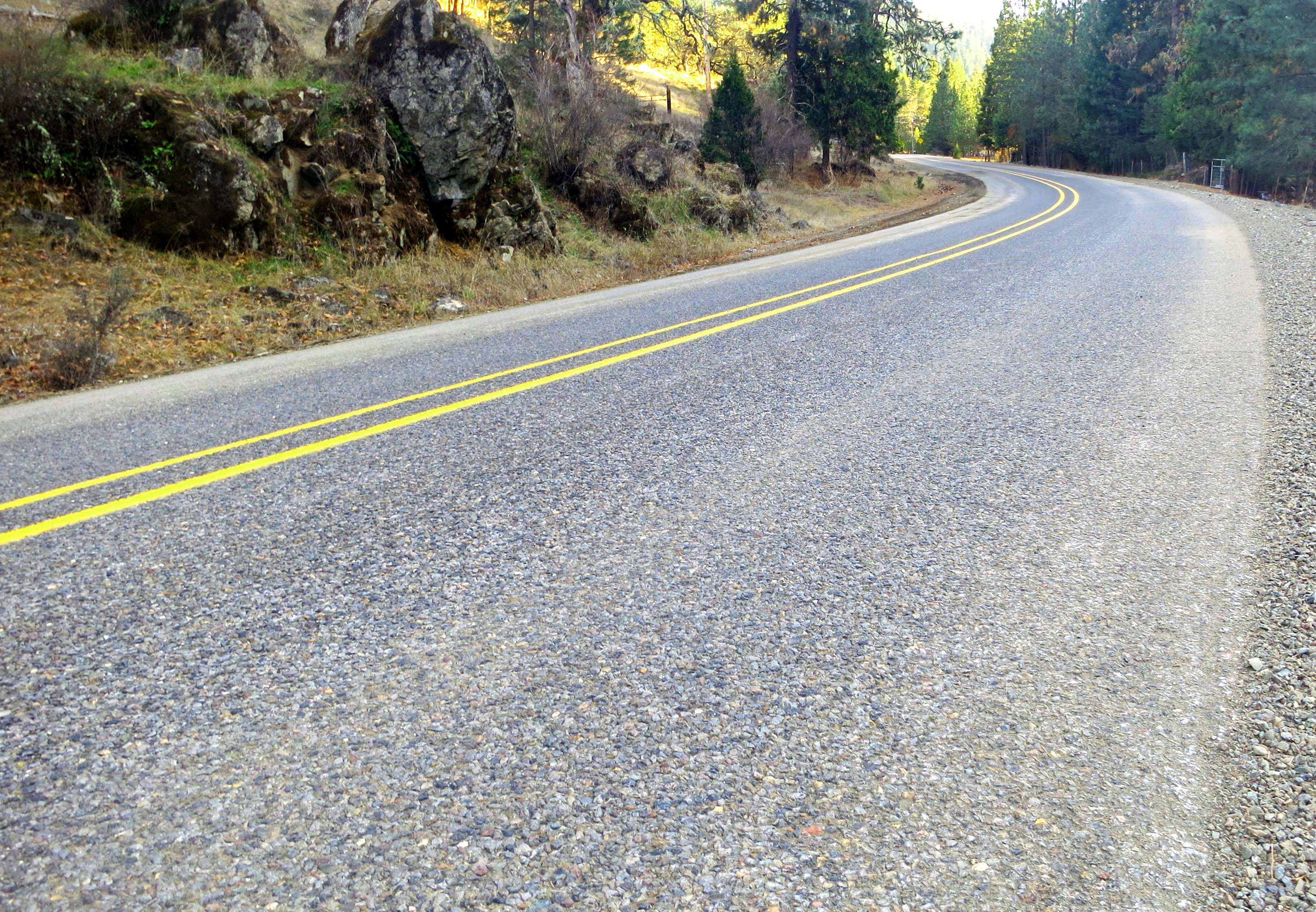 Upper Applegate Road, Southern Oregon. Photo by Curtis Mekemson.