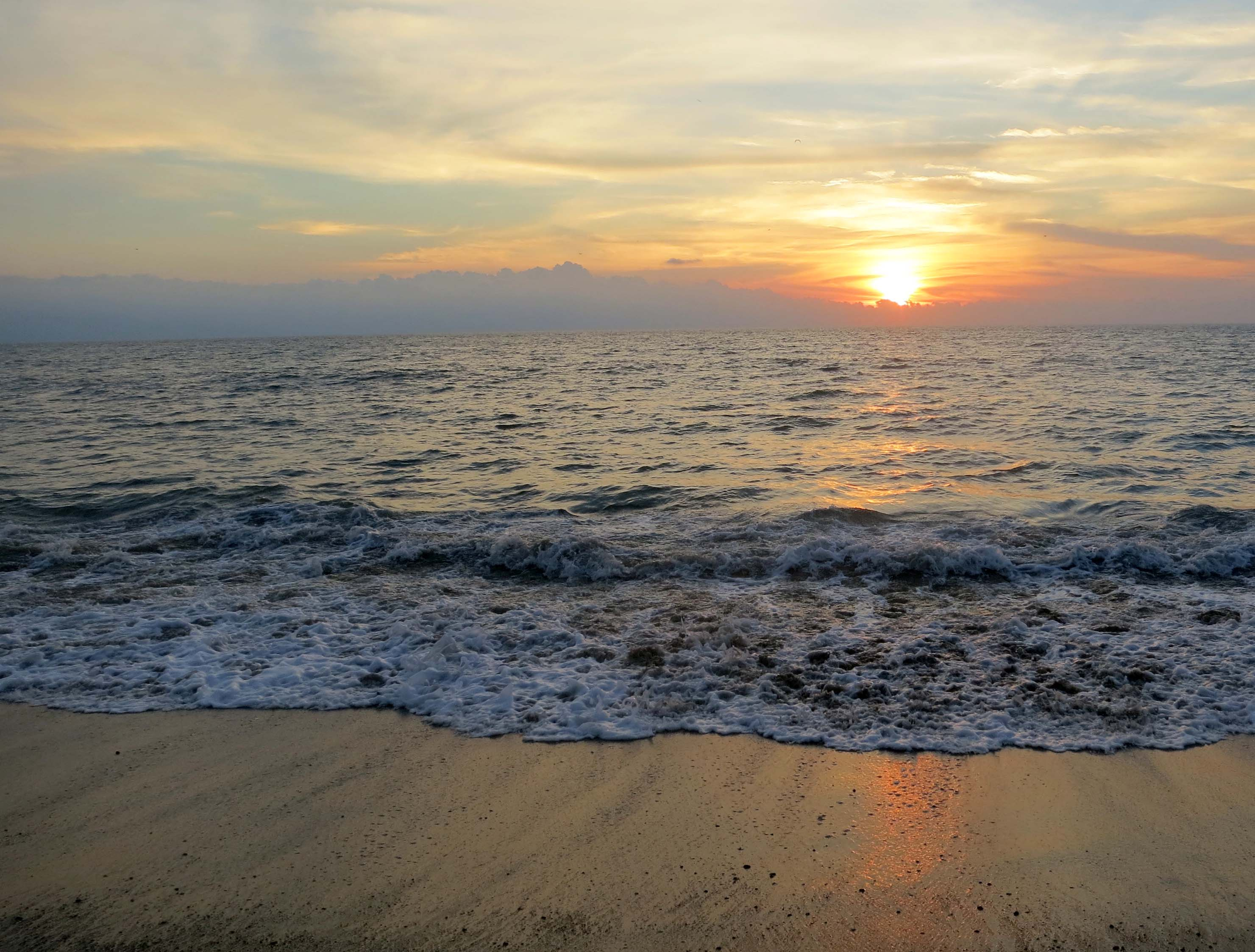 Puerto Vallarta beach sunset. (Photo by Curtis Mekemson.)
