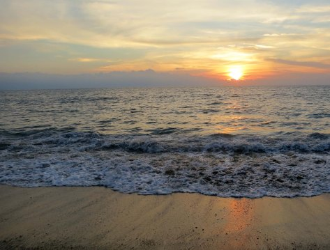 Puerto Vallarta beach sunset. (Photo by Curtis Mekemson.)