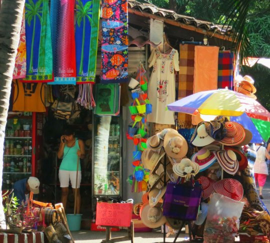 Tourist shop in Puerto Vallarta. Photo by Curtis Mekemson.