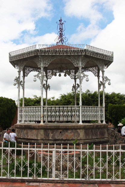 San Sebastian Bandstand. Photo by Curtis Mekemson.