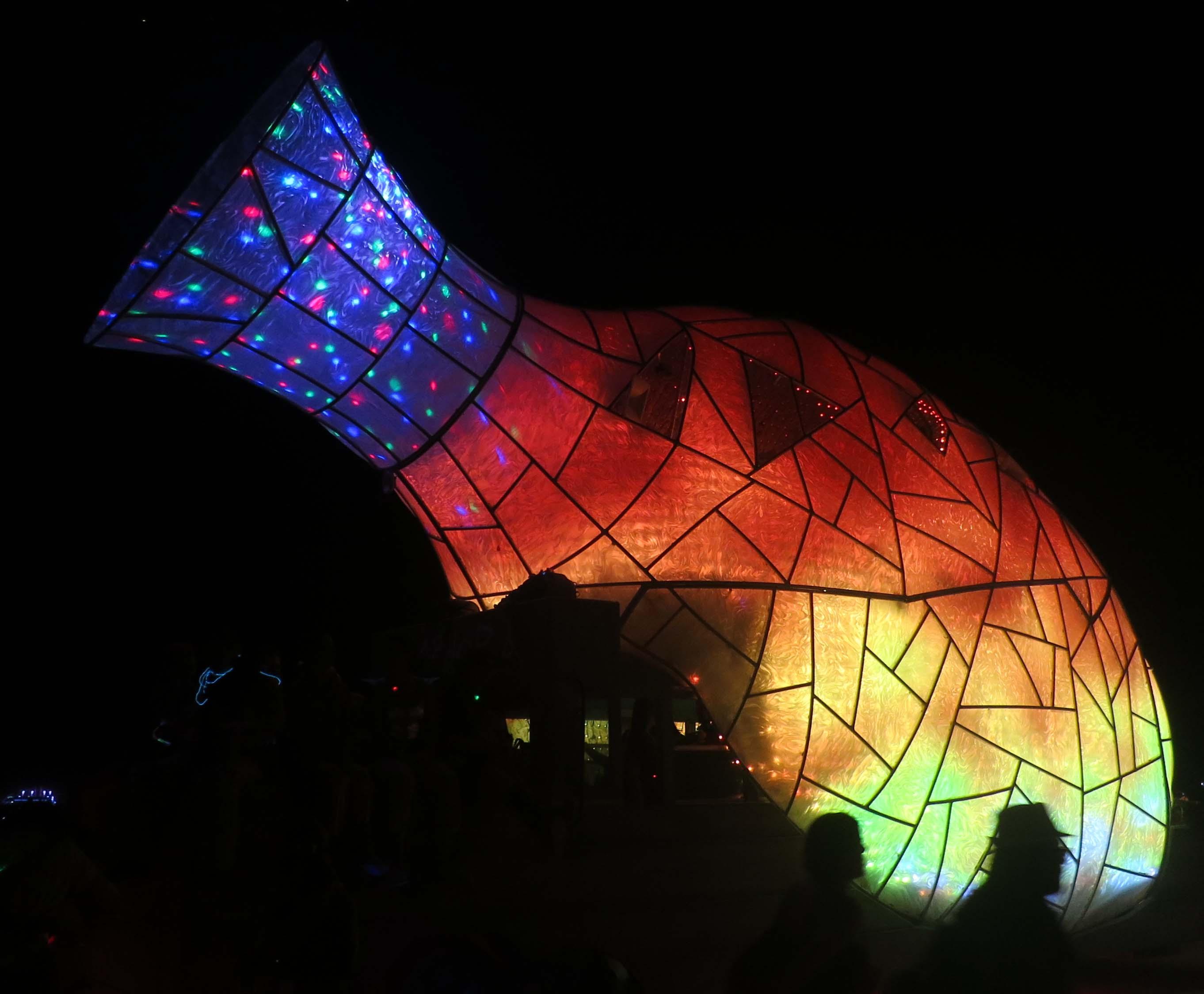 Burning Man mutant vehicle. Photo by Curtis Mekemson.