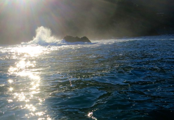 Photo of Pacific Ocean outside of Banderas Bay, Mexico. Photo taken by Curtis Mekemson.
