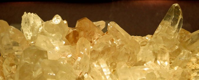 Crystals at the Crater Rock Museum in Central Point, Oregon. Photo by Curtis Mekemson.