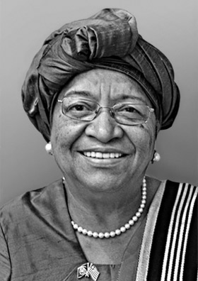 United Nations photo of Ellen Sirleaf Johnson
