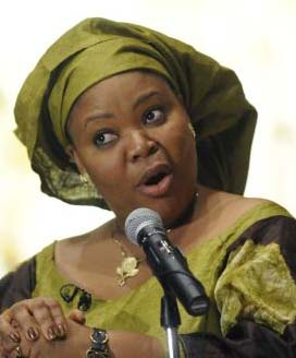 AP photo of Leymah Gbowee