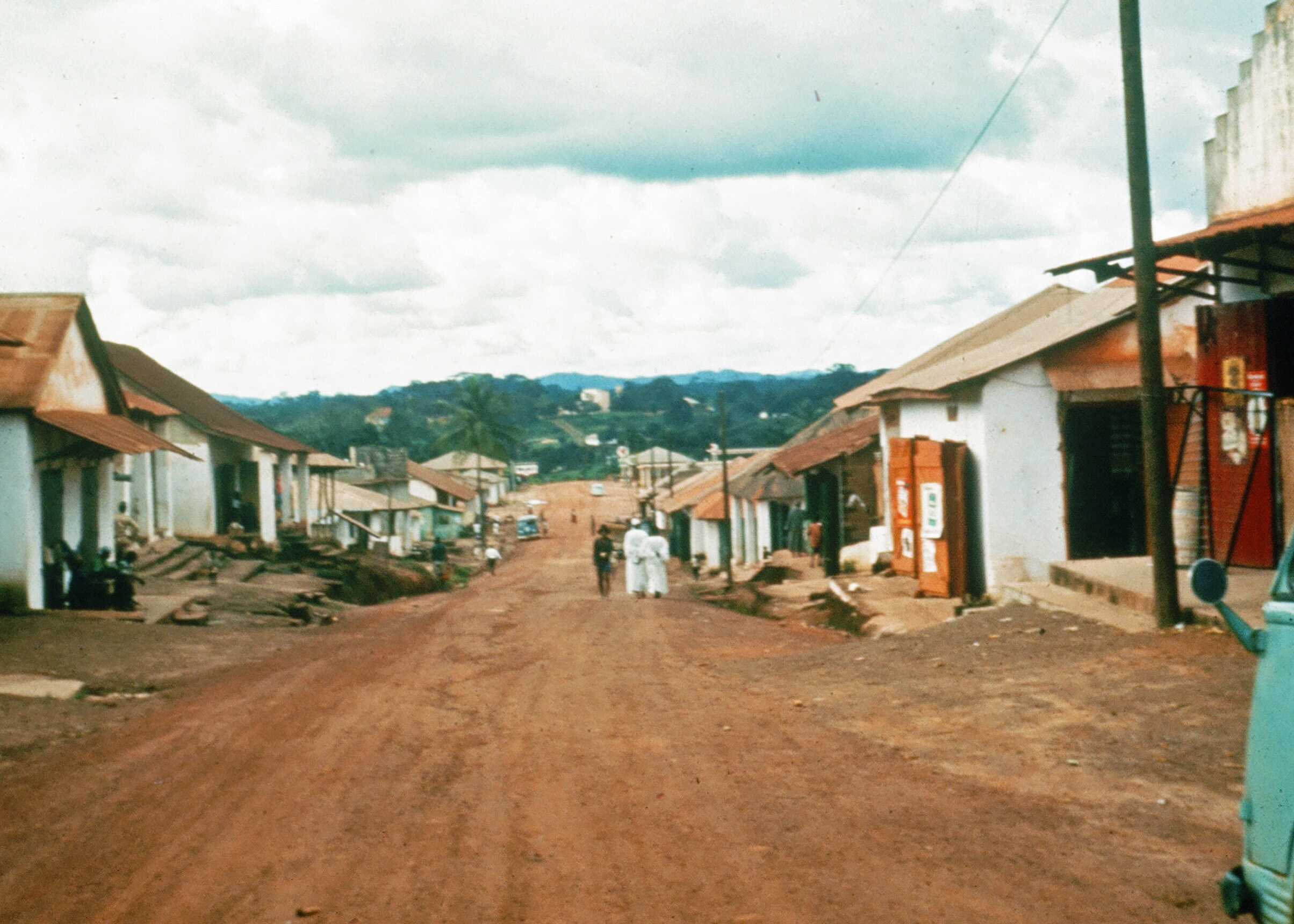 Gbarnga, Liberia where I served as a Peace Corps Volunteer from 1965-67. The photo was taken at that time.