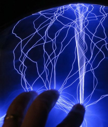 Who can resist dragging his fingers across a plasma ball and attracting electricity?