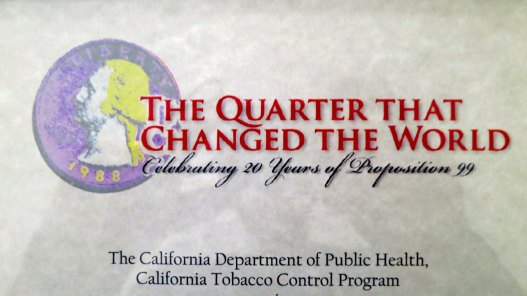 In 1996, I put together an effort to increase California's tobacco tax, which would eventually lead to one of the most extensive privation campaigns in history. Today it is estimated that the effort has saved over one million lives and one hundred billion dollars in health care costs.