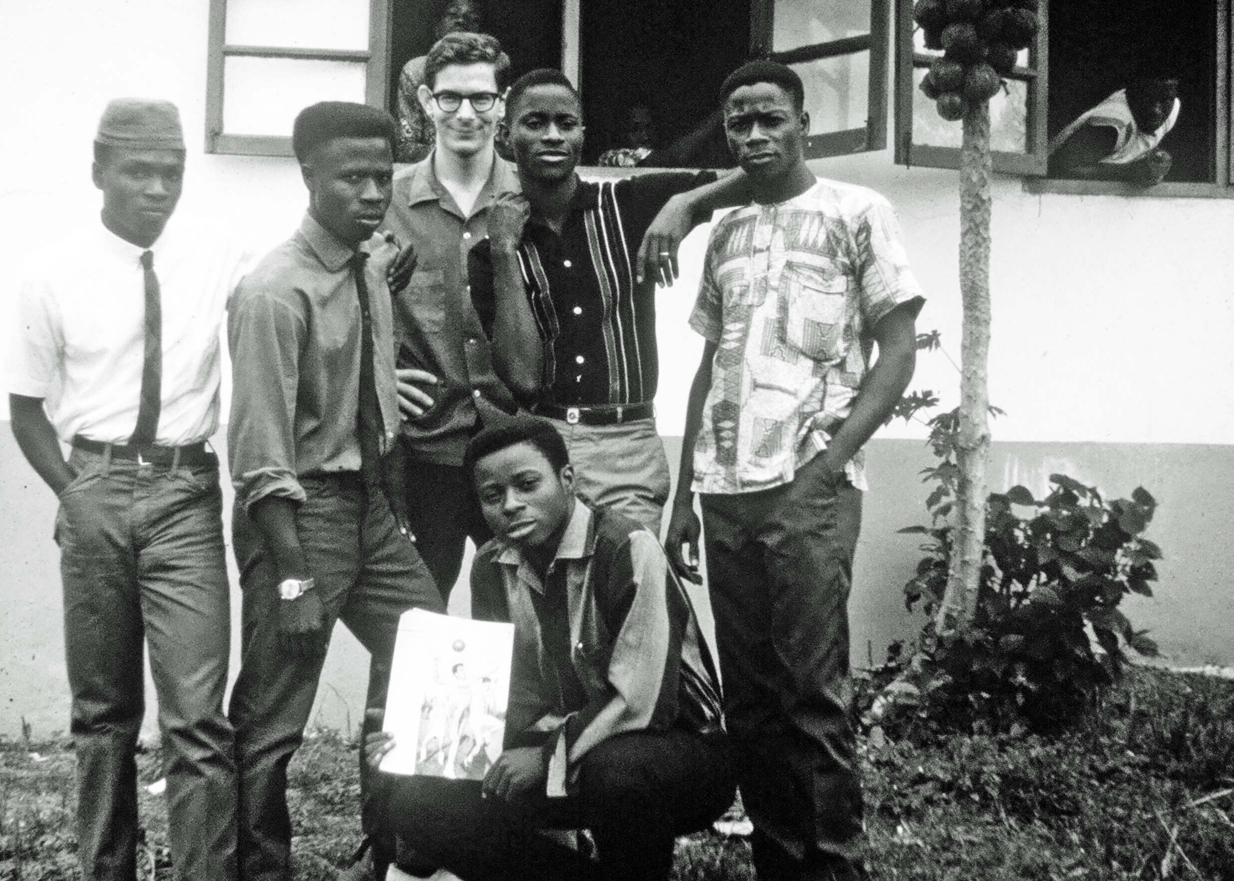 Hopefully todays young people in Liberia  will not face the grim future my students shown here from 1967 faced.