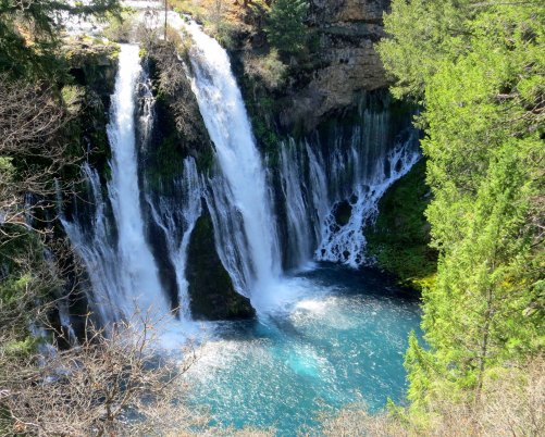 Burney Falls in Northern California. Photo by Curtis Mekemson.