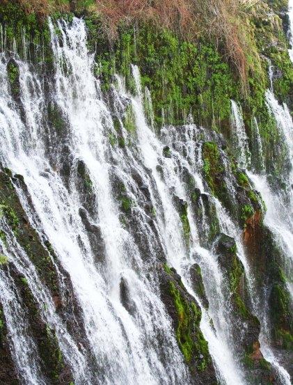 Burney Falls Northern California photo by Peggy Mekemson.