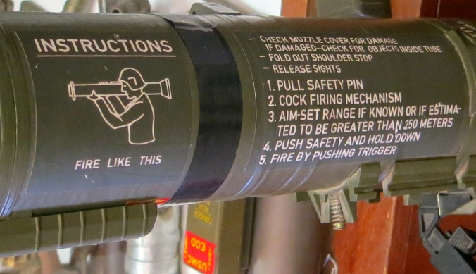 Bazooka at the Hawthorne Museum in Hawthorne, Nevada.