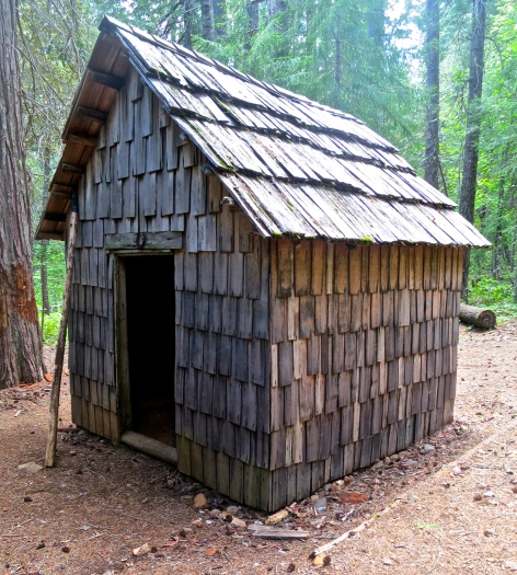 CCC Cabin in the Red Buttes Wilderness area of Northern California and Southern Oregon.