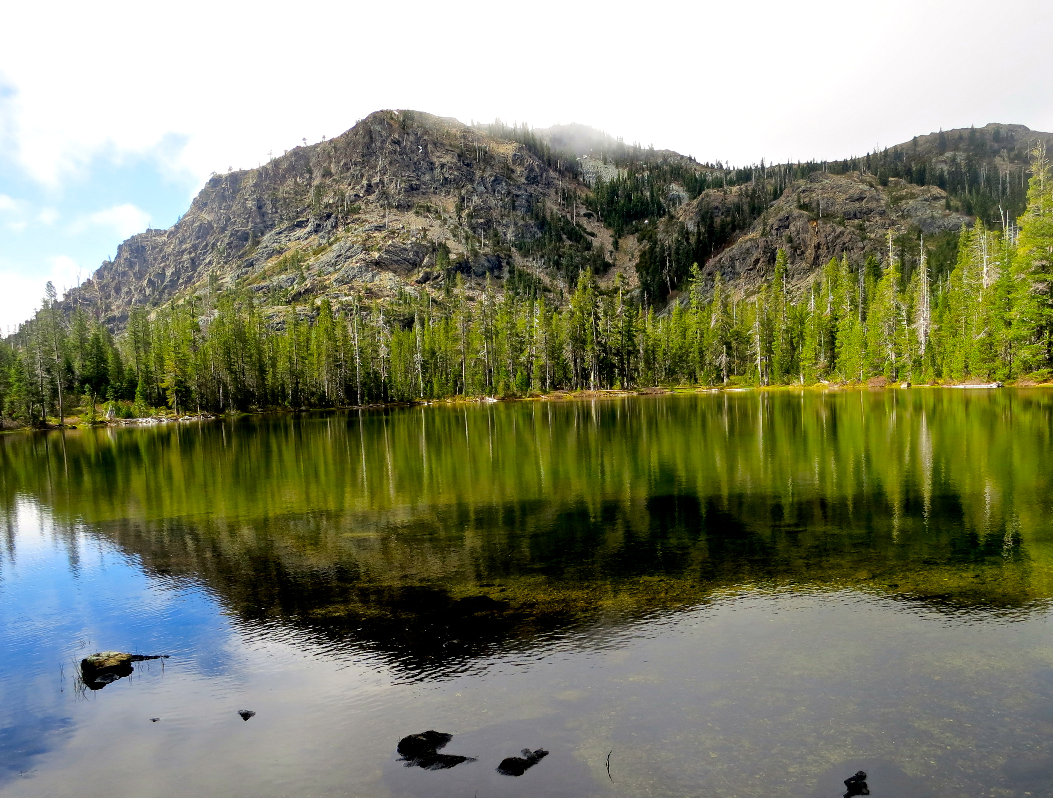 Azalea Lake in the Red Buttes Wilderness.