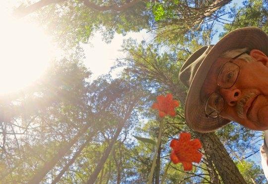 Selfie of Curtis Mekemson.