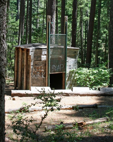 Bigfoot trap found above Applegate Lake in Southern Oregon.