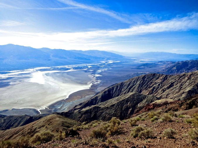 Looking down into Death Valley from Dante's View.