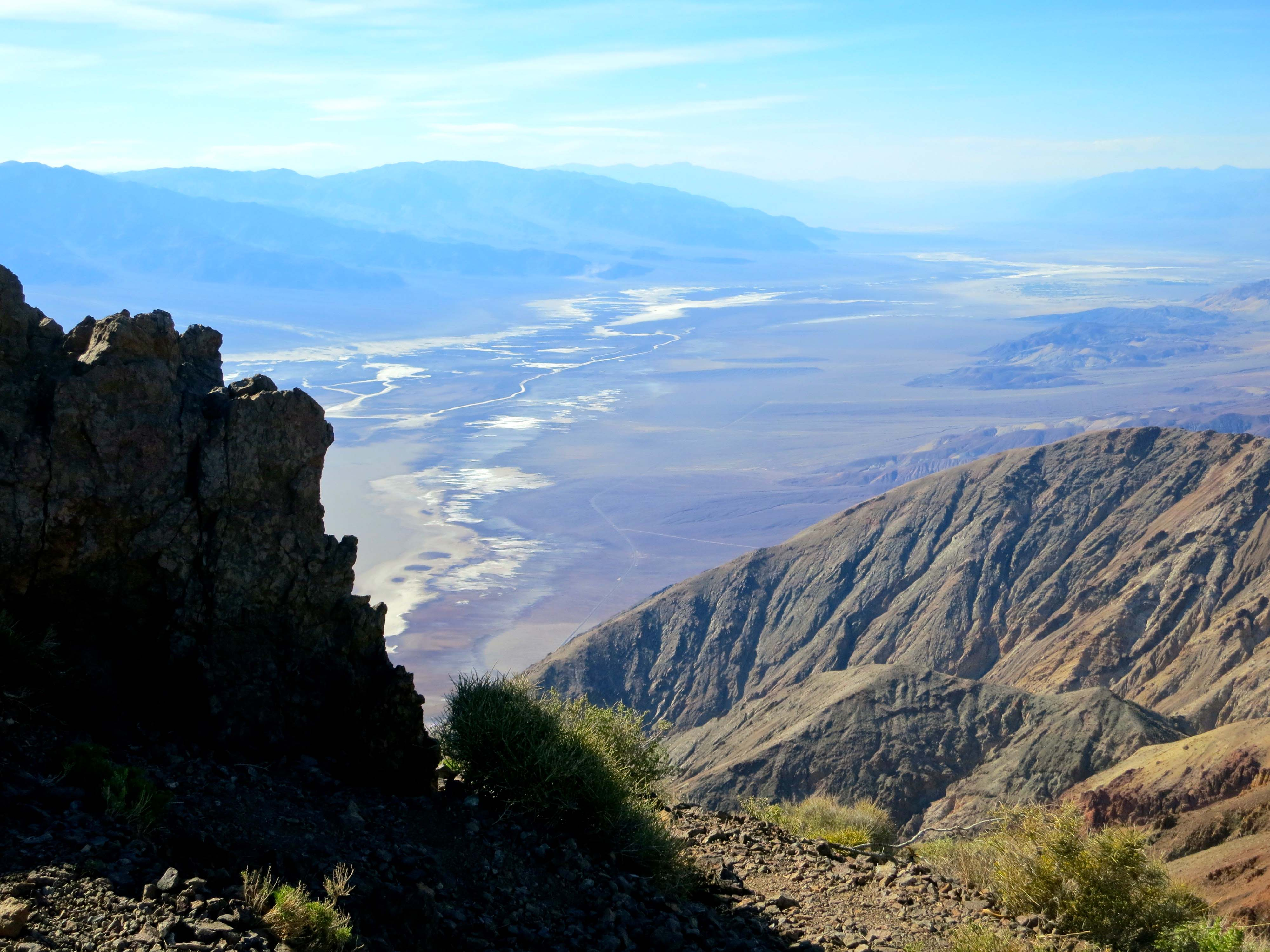 Dante's View provides a spectacular view of Death Valley.