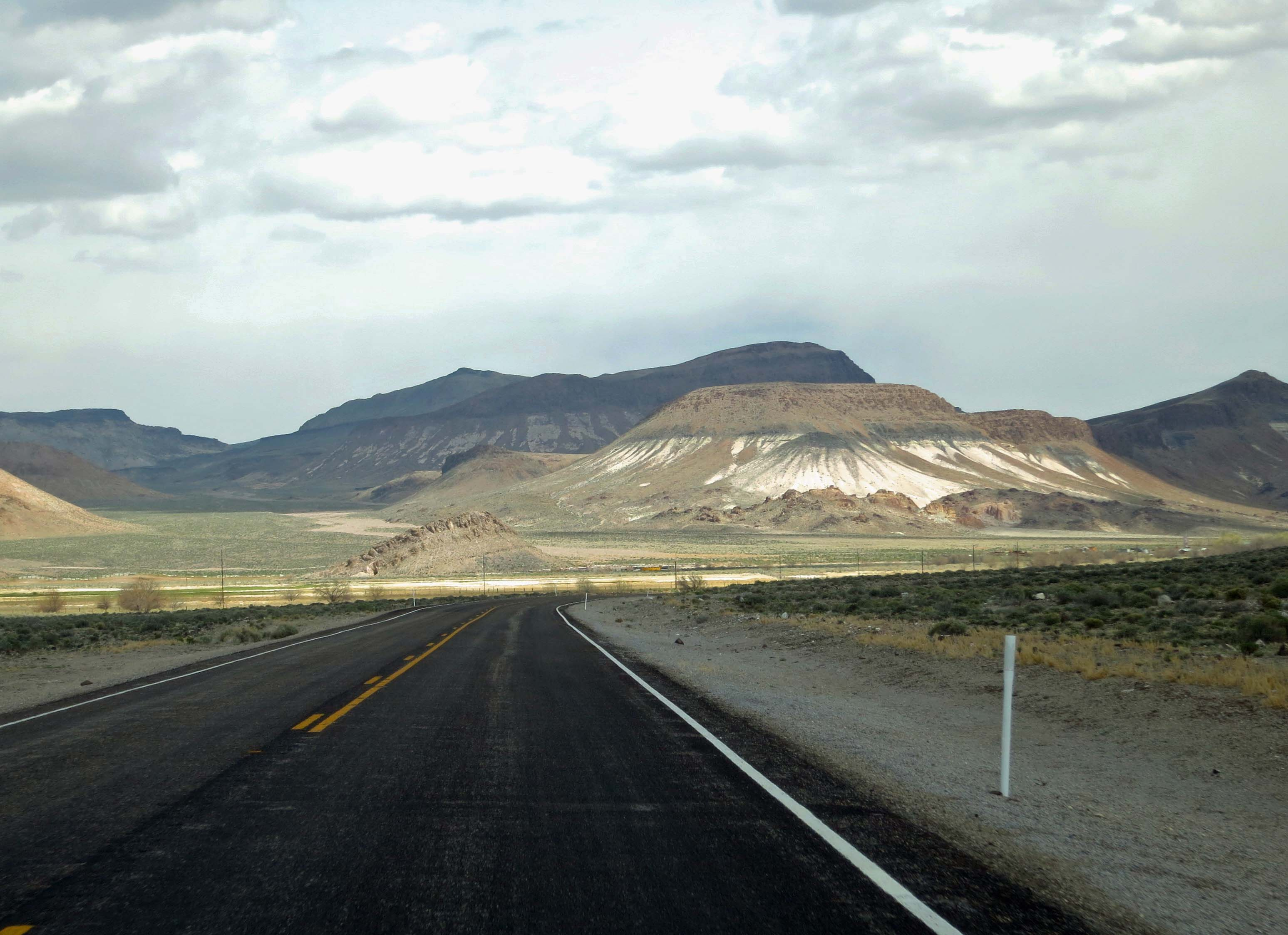ET Highway in Southern Nevada.