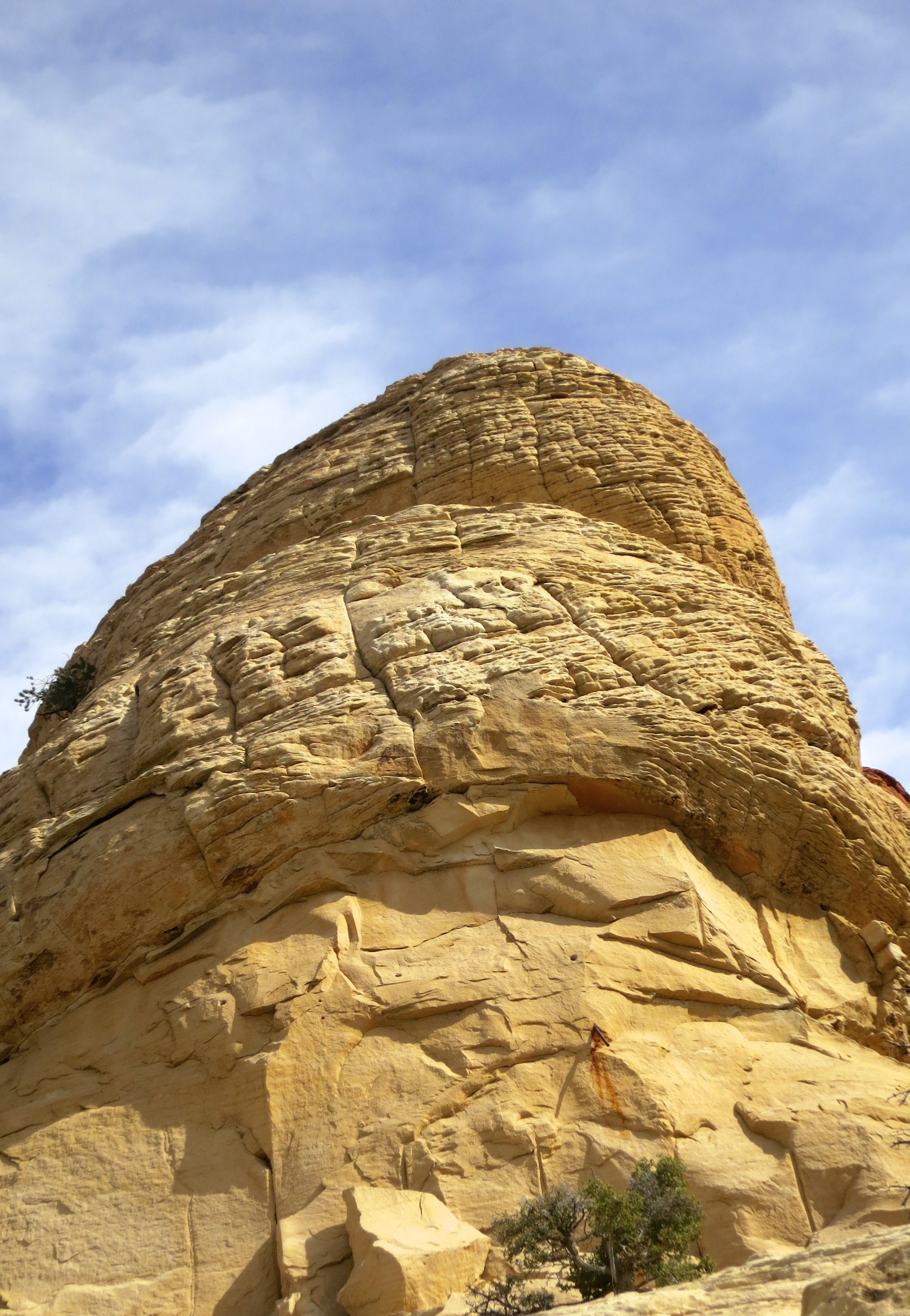 Sand Stone Quarry pull off in Red Rock Canyon National Conservation Area.