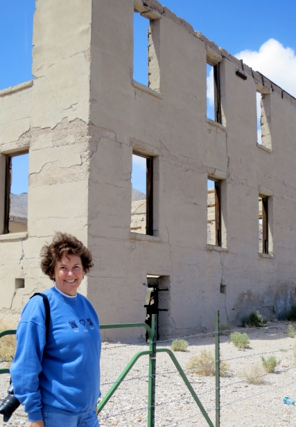School in the ghost town of Rhyolite, Nevada.