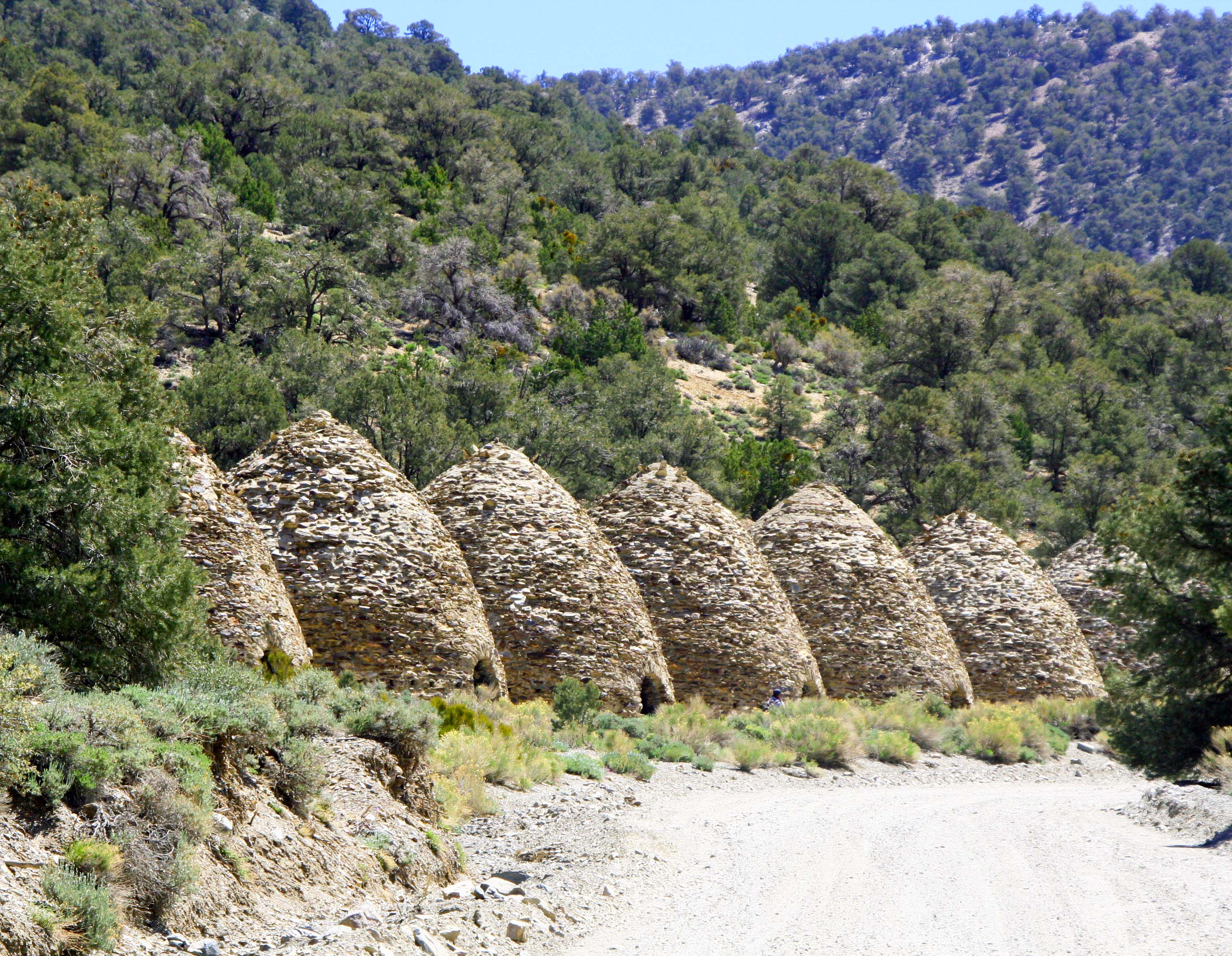 Charcoal kilns located in Death Valley.