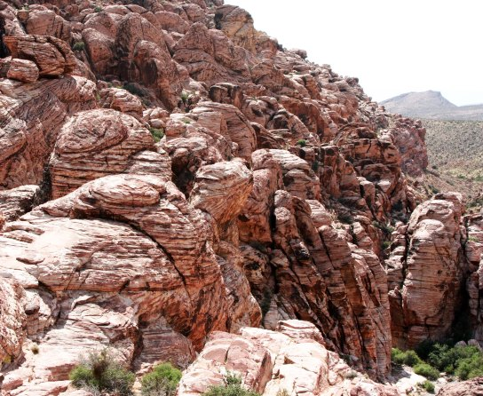 Photograph of Red Rock Canyon near Las Vegas Nevada.