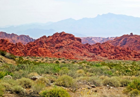 Valley of Fire State Park outside of Las Vegas, Nevada.