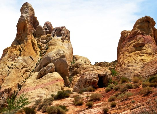The White Domes of the Valley of Fire.