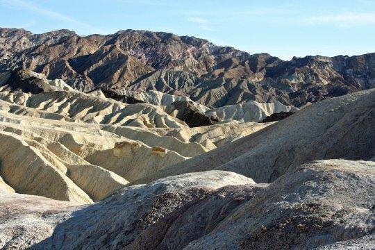 Zabriskie Point Death Valley.