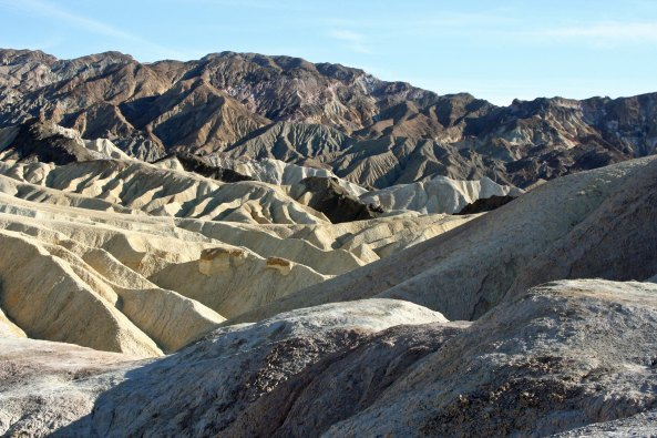 Zabriskie Point Death Valley.