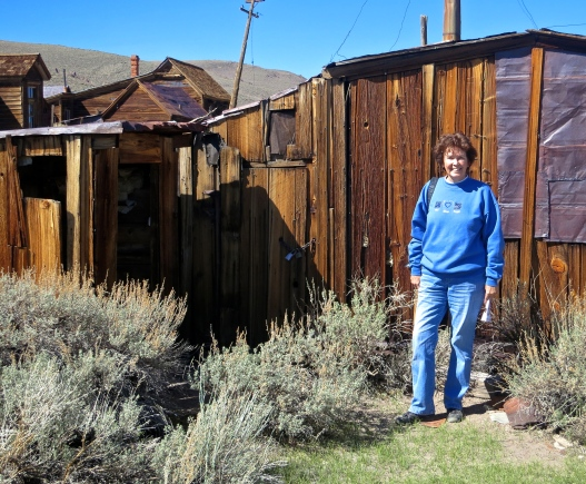 House of mine worker at Bodie ghost town.