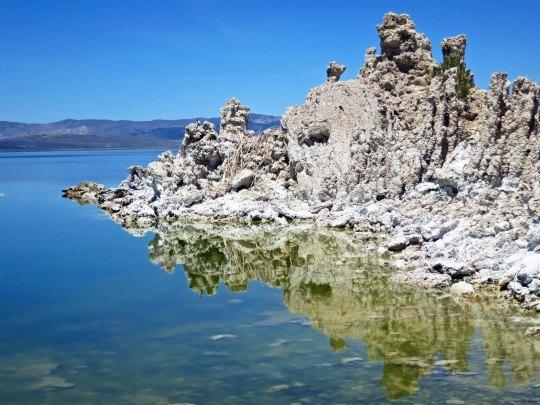 Tufa at Mono Lake near Lee Vining.