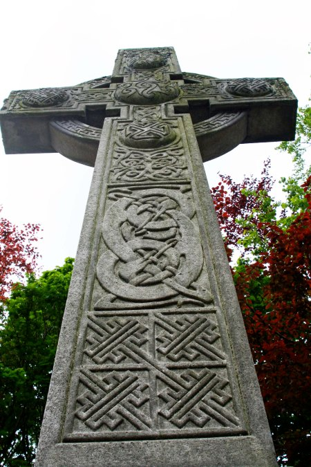 Ancient Celtic Cross in Scotland. Photo taken by Curtis Mekemson.