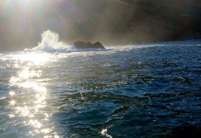 Ocean north of Puerto Vallarta. Photo by Curtis Mekemson.