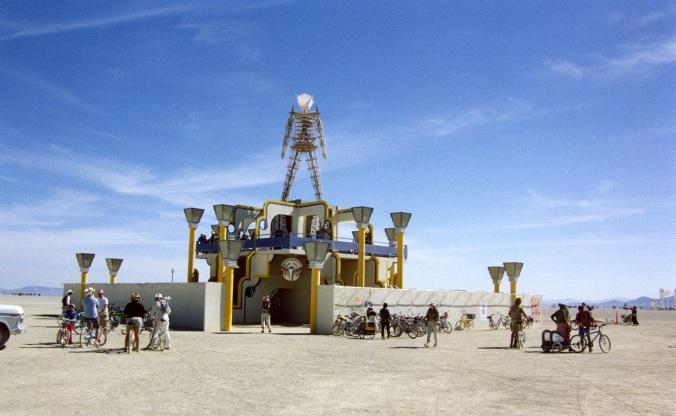 The Man at Burning Man in 2006