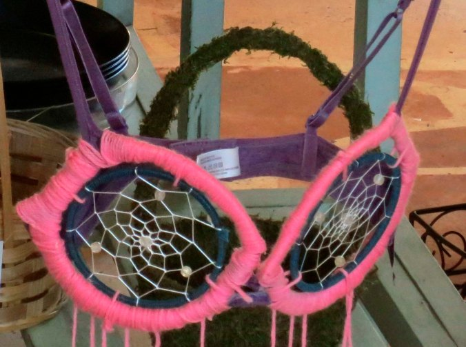 Dream catcher. Ouch.