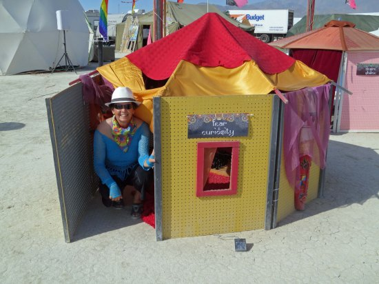 A small house at Burning Man 2014. Photo by Curtis Mekemson.