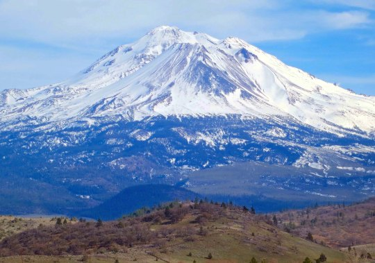 Mt. Shasta in northern California. Photo by Curtis Mekemson.