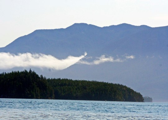 Blackfish Sound in British Columbia.