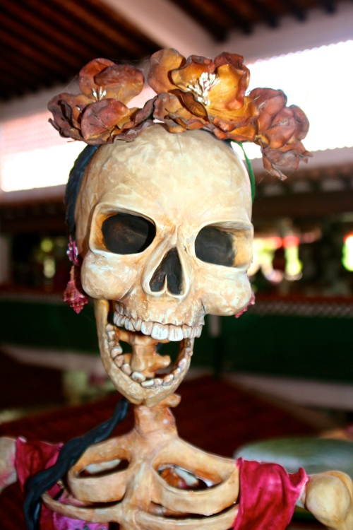 Day of the Dead skeleton in Puerto Vallarta, Mexico.