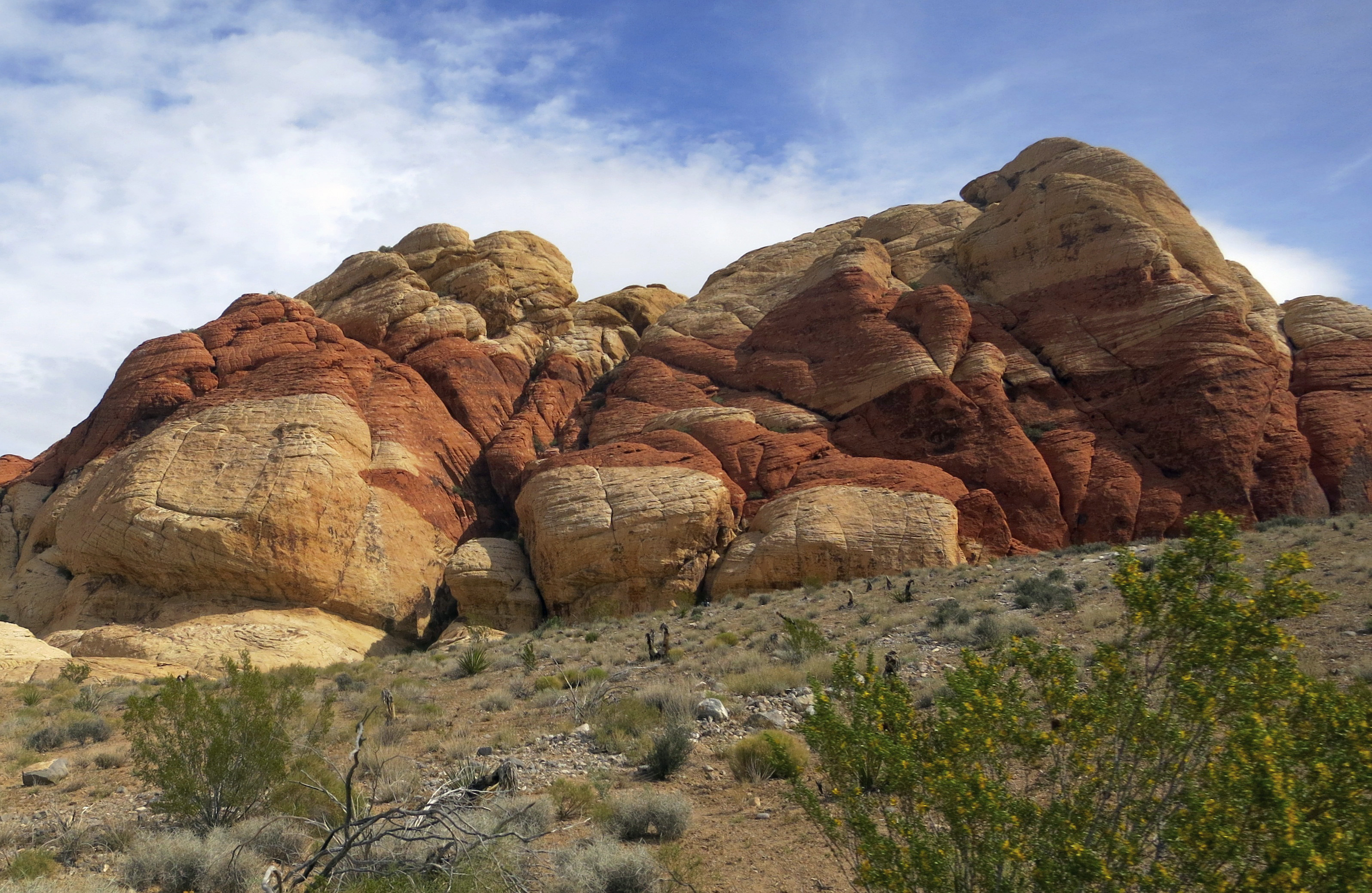 March: Red Rock Canyon National Conservation Area in southern Nevada.