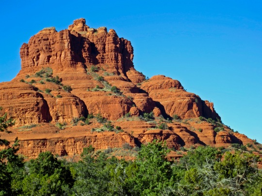 December: Bell Rock in Sedona, Arizona.