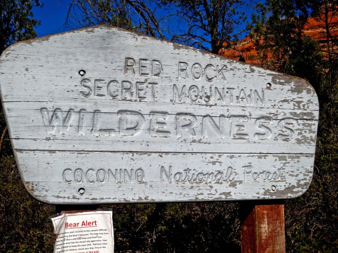 The wilderness sign warned people they might find a bear wandering around in the canyon. While most people might find this worrisome, I was looking forward to it. No such luck.