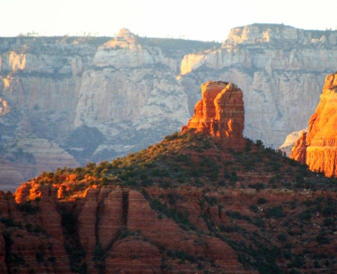 Chimney Rock in Sedona, Arizona.